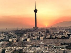 خطر نشست و فروریختن برج میلاد تهران